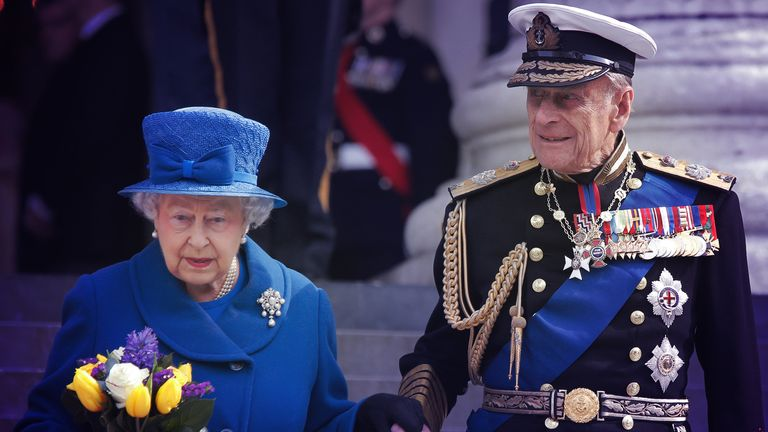 Her Majesty and Prince Philip
