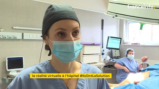 In a clinic in Nancy, virtual reality headsets to soothe operated patients
