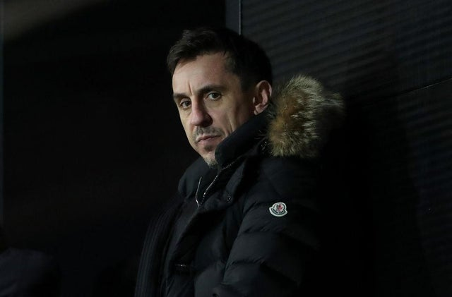 Gary Neville.  (Photo by Alex Livesey / Getty Images)