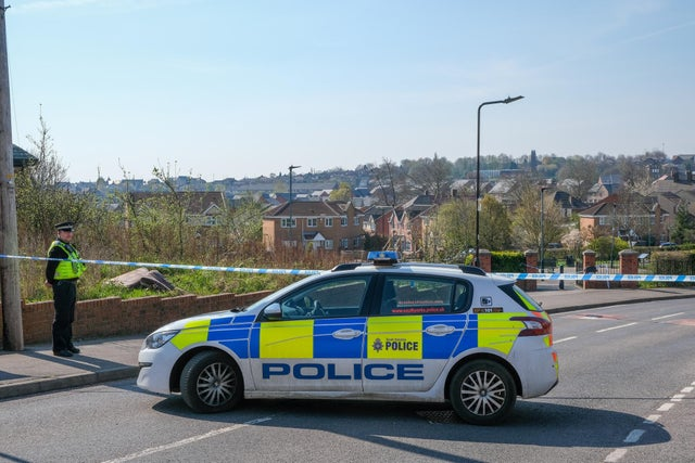 A murder investigation continues today after the death of a 32-year-old man on the mansion grounds in Sheffield yesterday morning (Photo: Dean Atkins)