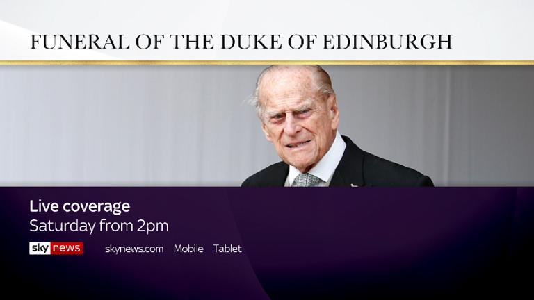 Prince Philip's funeral TV promo