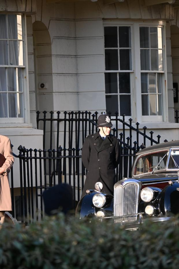 The Argus: Harry Styles filming in Regncy Square, Brighton