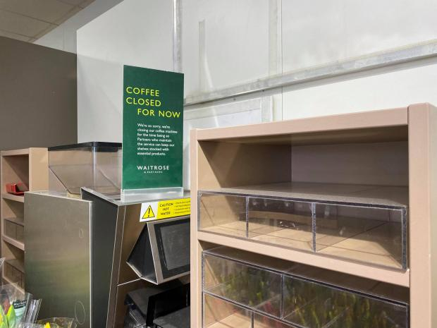 The Argus: It remains to be seen when free coffees return to Waitrose