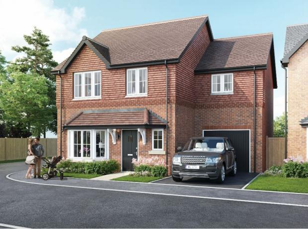 L'Argus: Artist's impression of one of the individual houses on the site