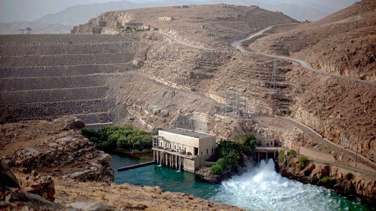 The Kajaki Dam is seen on July 28, 2011 in Kajaki, Helmand province, Afghanistan.  Photo: AP
