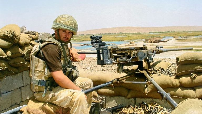 Corporal Mark Wright died after a dozen soldiers were stranded in a minefield near the Kajaki Dam in Afghanistan in 2006